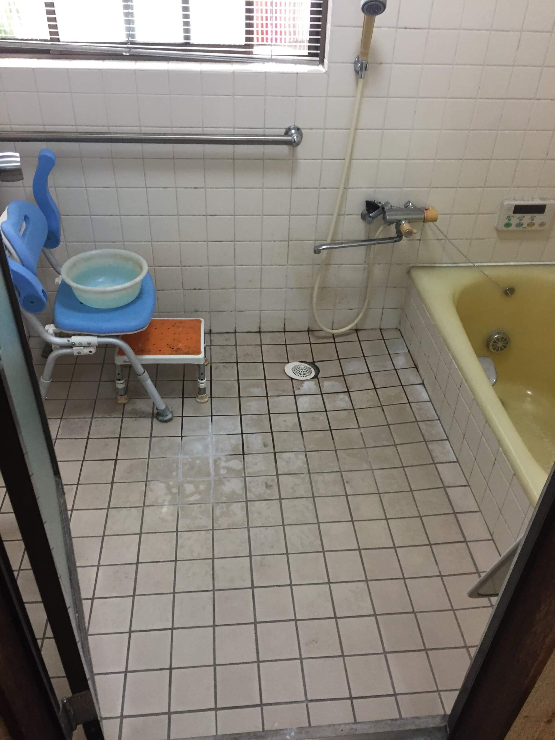浴室クリーニング工事
