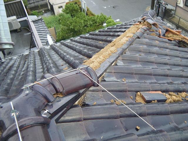 屋根工事 ~台風被害~