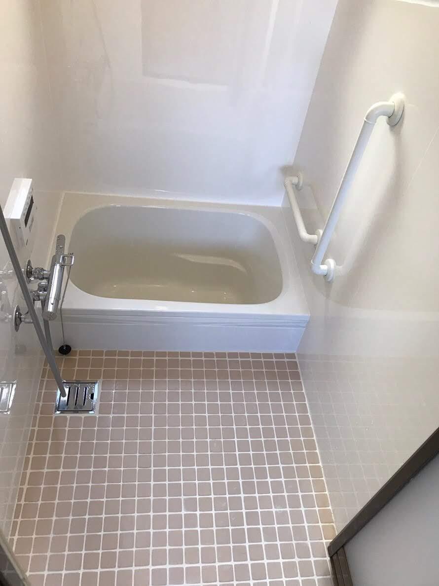 浴室リフォーム ★タイルのお風呂の工事編