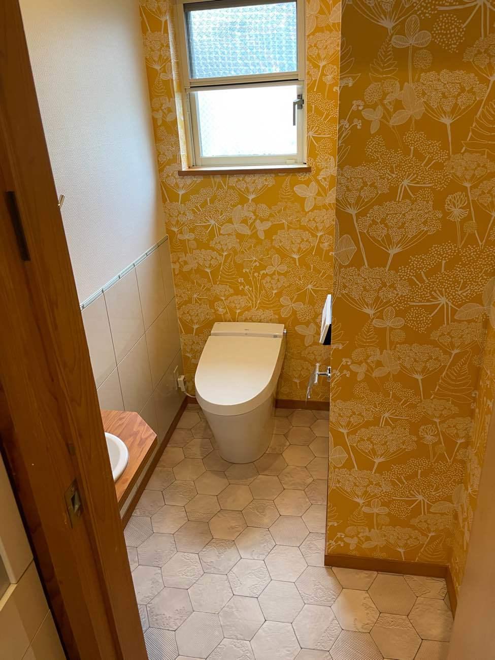 華やかなトイレ空間