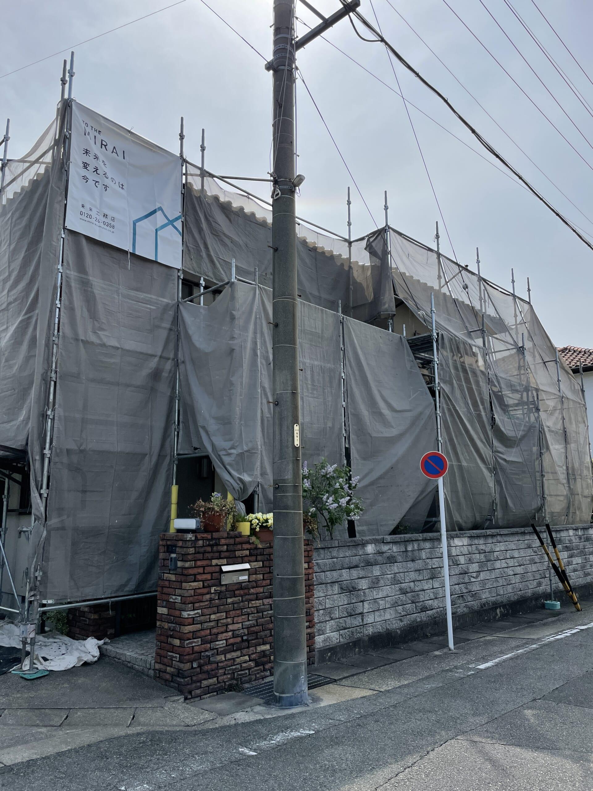 外壁塗装・外壁モルタル補修工事